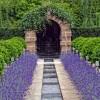brukowana ścieżka w ogrodzie